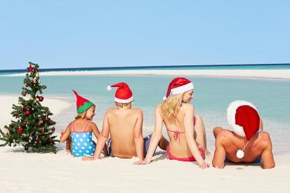 family santa hats